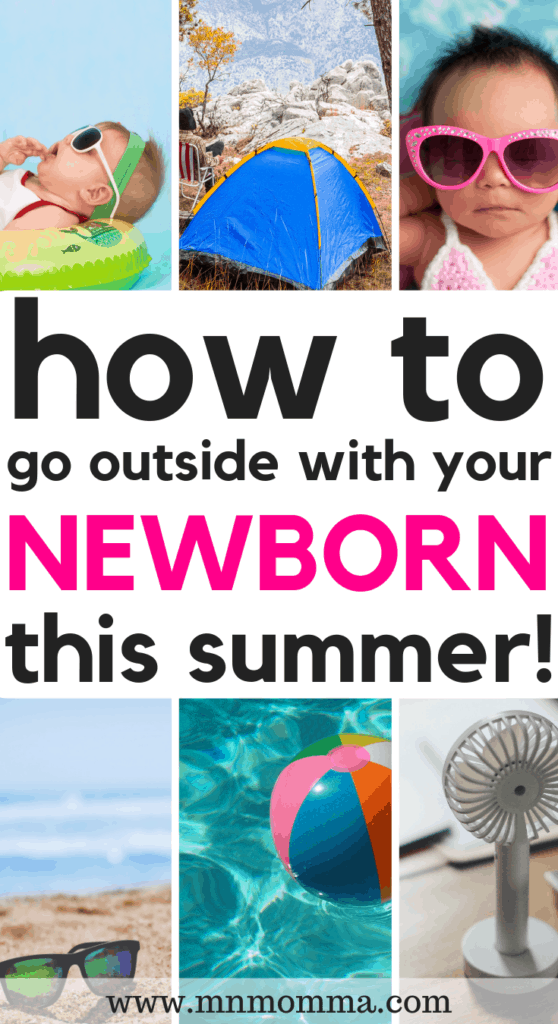how to survive summer with a newborn