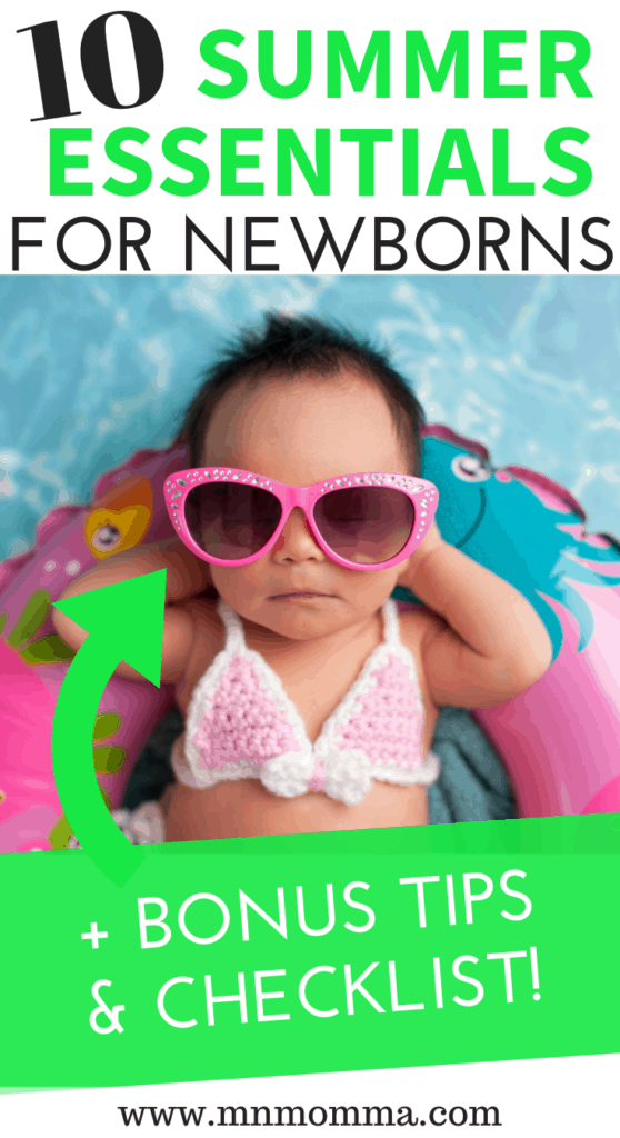 tips for taking your baby outside in the summer