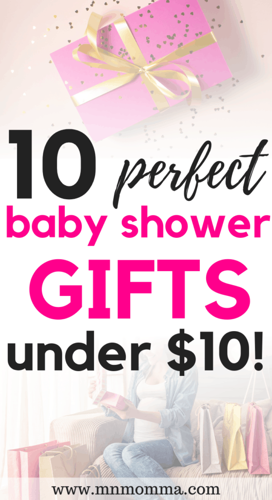 Inexpensive Baby Shower Gifts for Moms under $10