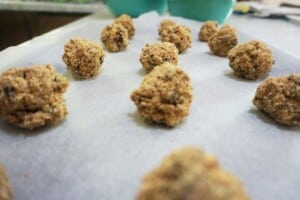 lactation balls: chocolate chip power balls no bake recipe
