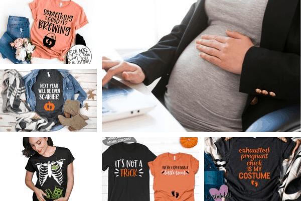 Pregnancy Halloween Shirts
