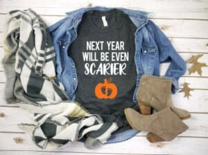 halloween shirt for pregnant mom