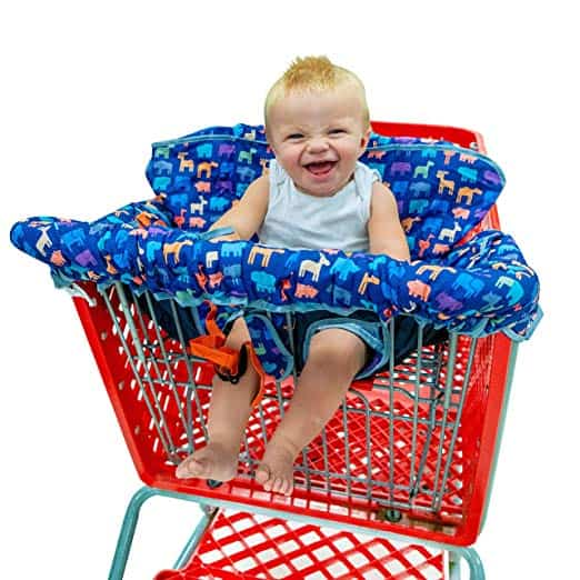 Busy Bambino 2-in-1 Shopping Cart & High Chair Cover for Baby