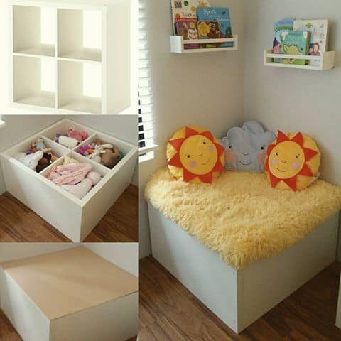 ikea storage hack for toys