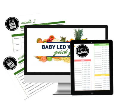 baby led weaning quick guide